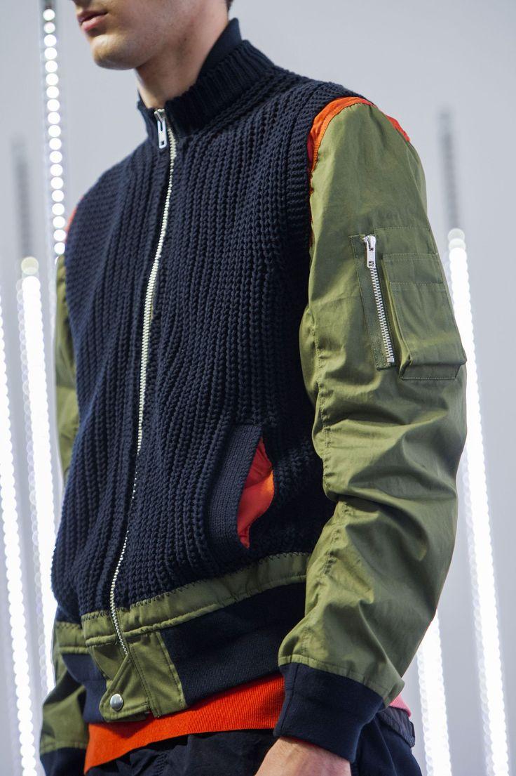 Sacai Men's S/S '15 | Men's Fashion | Menswear | Men's Casual Outfit | Shop at designerclothingfans.com