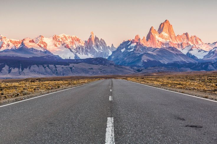From El Calafate, the town of El Chalten is about 2 1/2 - 3 hours away.