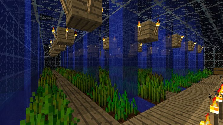 Minecraft - farming - you could totally do more tiers like this that would be awesome