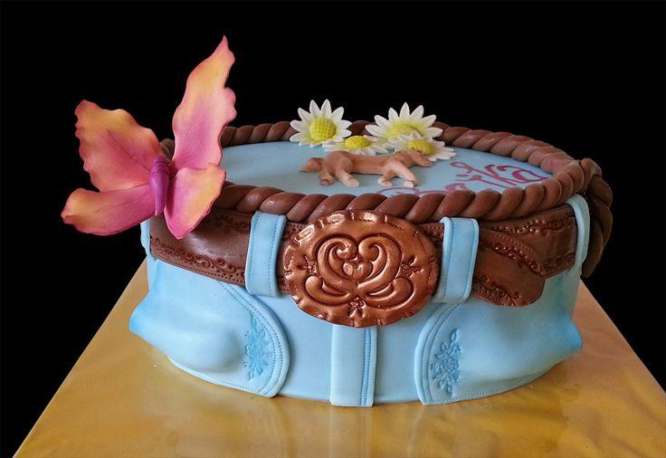 Ďžínsy / Cowboy cake
