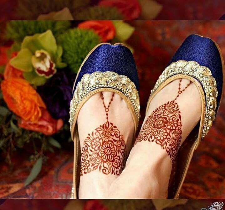 Royal Blue Cut Shoe