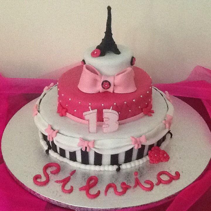 FLOWER CAKE DESIGNER: Cake Torre Eiffel