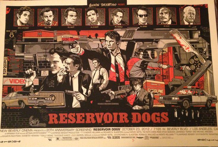 RESERVOIR DOGS Mondo Poster by Tyler Stout - News - GeekTyrant