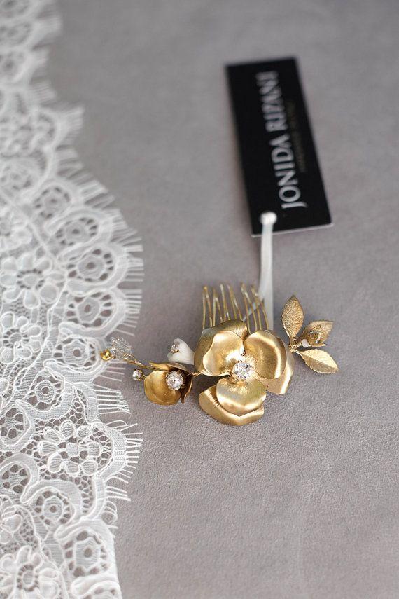 Merida floreale capelli pettine viti dei capelli di JonidaRipani