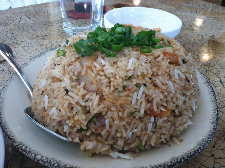 Bagoong fried rice....so Filipino .... And sooooo good!