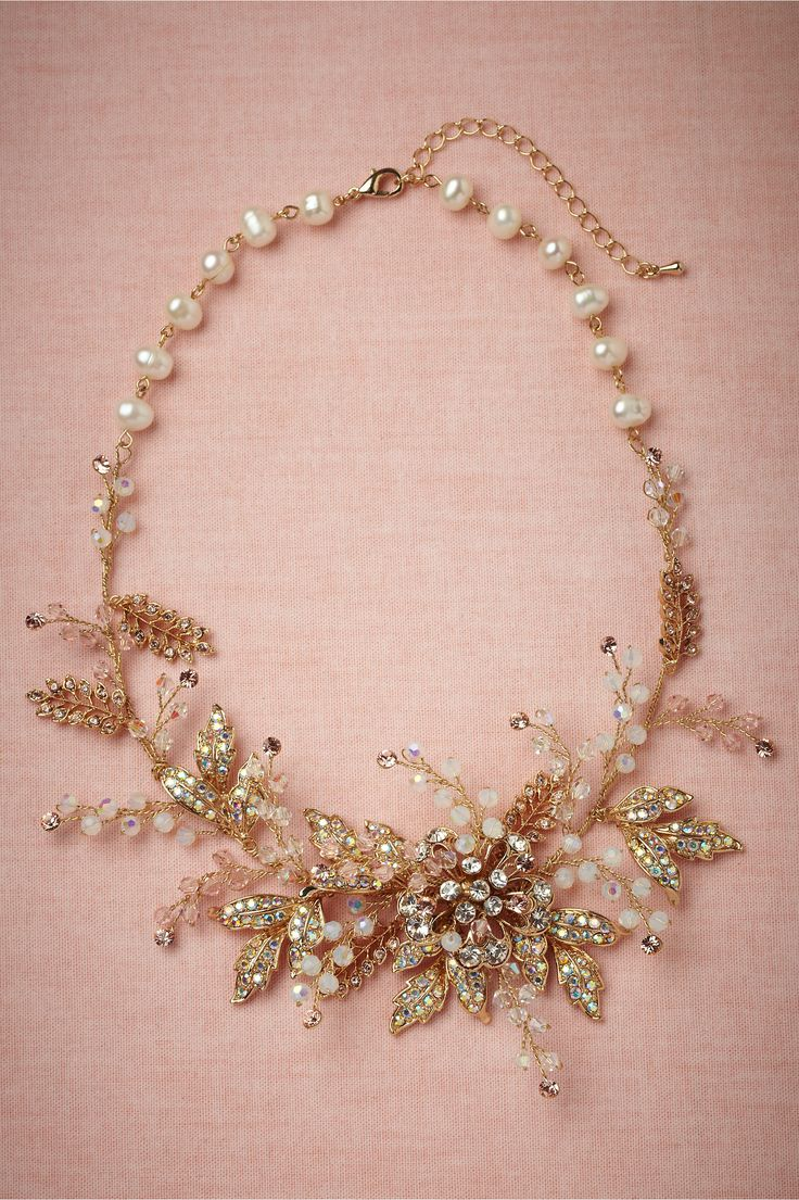 Cerasus Necklace in Bride Bridal Jewelry at BHLDN