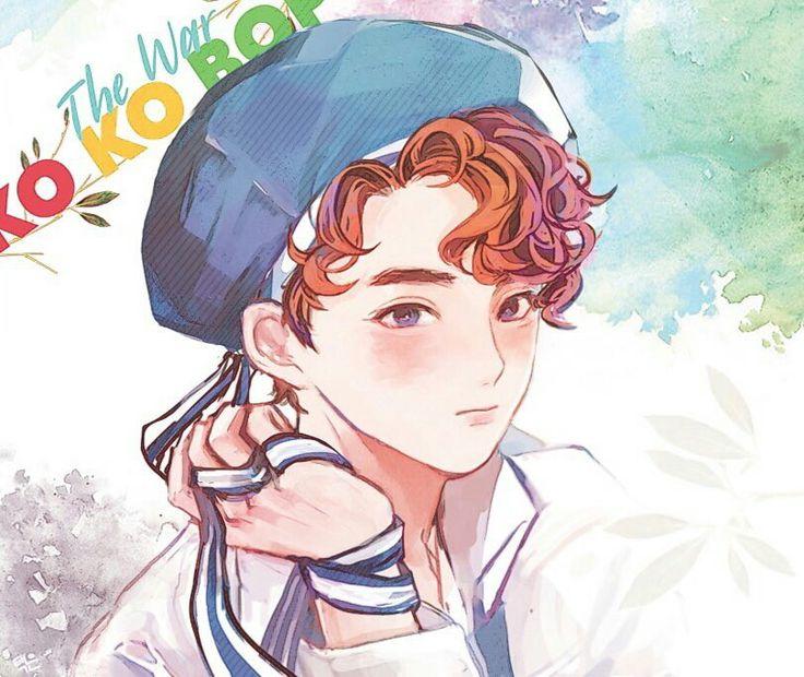 FanArt - EXO: SuHo em KO KO BOP