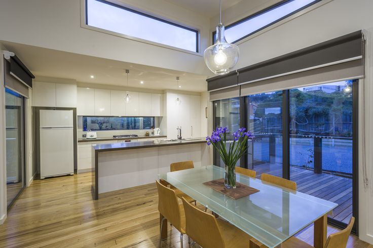 Jan Juc - Custom Home designed for a difficult sloping site.    #beachhouse #coastalhome #homedesign #pivothomes #australianhomes #splitlevelhome
