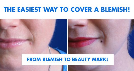 Big zit? Don't panic! Try This Must-Have Emergency Coverup Tip!