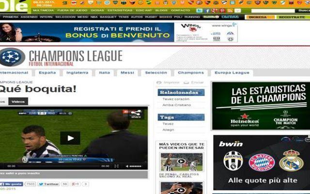 Carlitos Tevez Urla Sei Un Cagone ad Allegri alla Sostituzione. Video #juventus #tevez #allegri #calcio #video