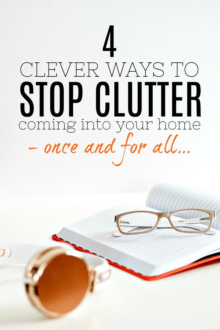 Amazing ways to stop clutter coming into your home after you have decluttered and sorted everything out. There are lots of tips and ideas to try that will stop your home getting out of control and you won't be letting anything that doesn't belong back in! Decluttering advice.