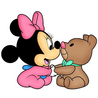 Baby Mickey and Minnie Mouse | baby minnie mouse disney baby minnie mouse clip art images free to ...