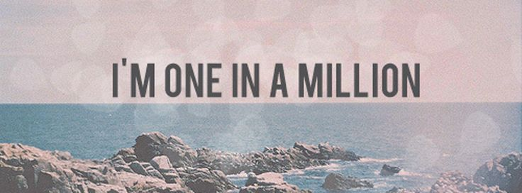 I'm one in a million. | Quotes | Pinterest | Friendship ...