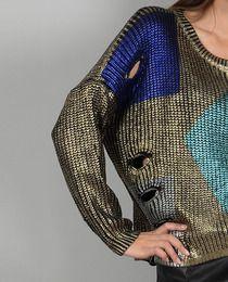 """Metallic sweater MOLLY BRACKEN... puedes comprarlo en www.lenceria-suenos.es o en la tienda física """"Sueños""""  en Pola de Siero."""