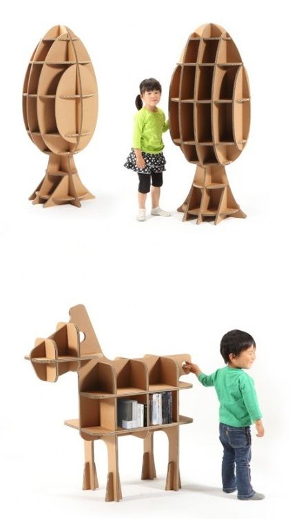 A New Brand of Cardboard Kids Furniture - neofundi