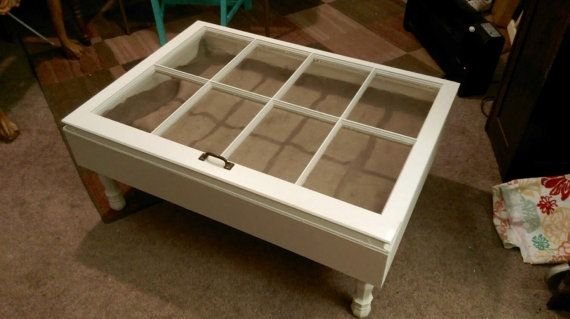 Hey, I found this really awesome Etsy listing at https://www.etsy.com/listing/223872799/shadow-box-coffee-table-reclaimed-window