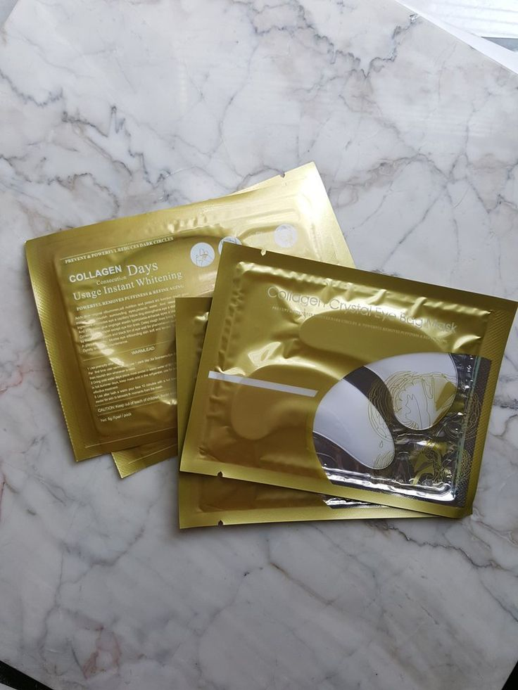 Collagen Crystal Under Eye Mask - Korean Skincare