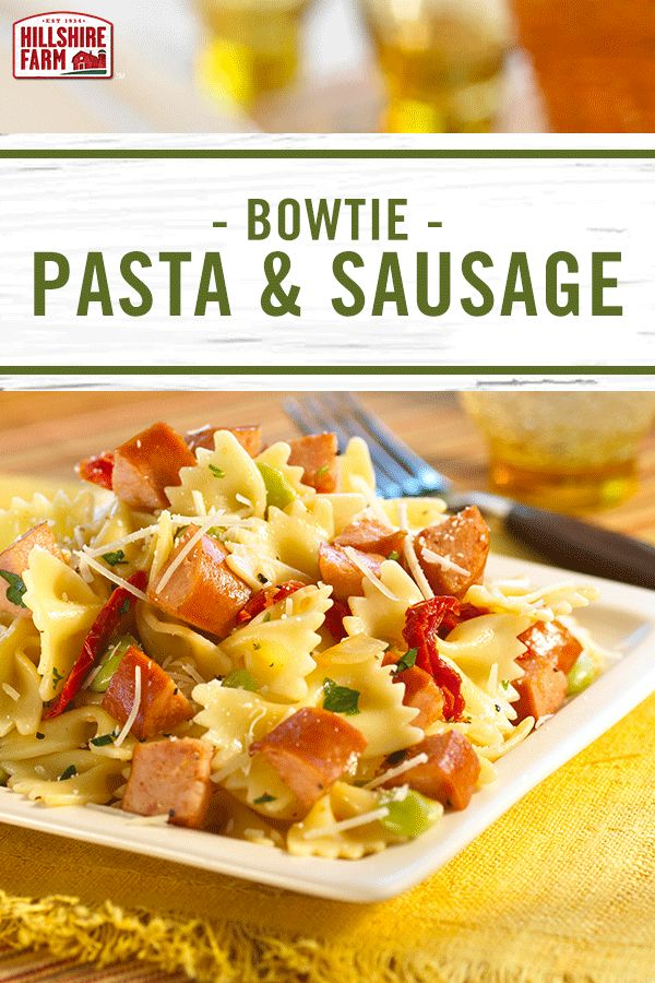 This easy weeknight favorite turns Hillshire Farm® Smoked Sausage into a rustic Italian feast. Enjoy the flavors of Italy tonight with this beautiful smoked sausage recipe.