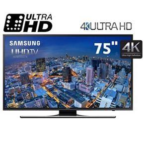 "Smart TV LED 75"" Ultra HD 4K Samsung 75JU6500 c..."