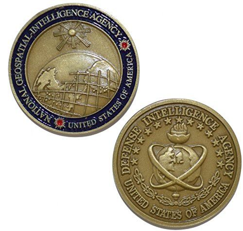 Defense Intelligence Agency National Geospatial - Intelligence Agency - Challenge Coin