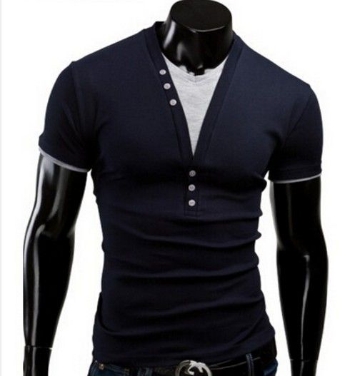Pánské moderní tričko s výstřihem tmavě modré – pánská trička + POŠTOVNÉ ZDARMA Na tento produkt se vztahuje nejen zajímavá sleva, ale také poštovné zdarma! Využij této výhodné nabídky a ušetři na poštovném, stejně jako …