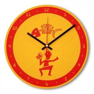 Часы настенные - Пиво-рыба