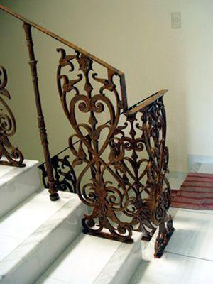 Fotos de barandales barandal de escalera 1 escaleras - Barandales modernos para escaleras ...