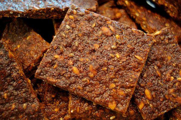 crackers din morcov, porumb și hrișcă