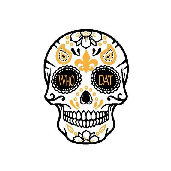 pack of 10 Small Mexican Skull Die Cuts NEW