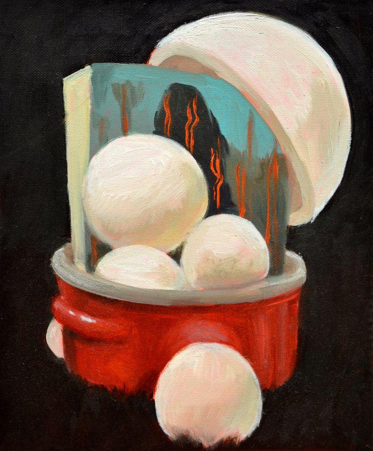 Absurd Composition in Pot by Klara Sedlo