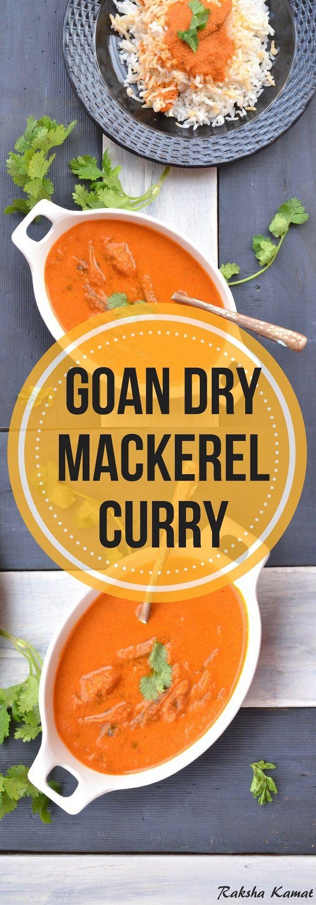 Goan Fish Curry with Dry Mackerel ,Sukya Bangdyache Hooman, dry fish recipes, Goan fish curry, dry fish curry
