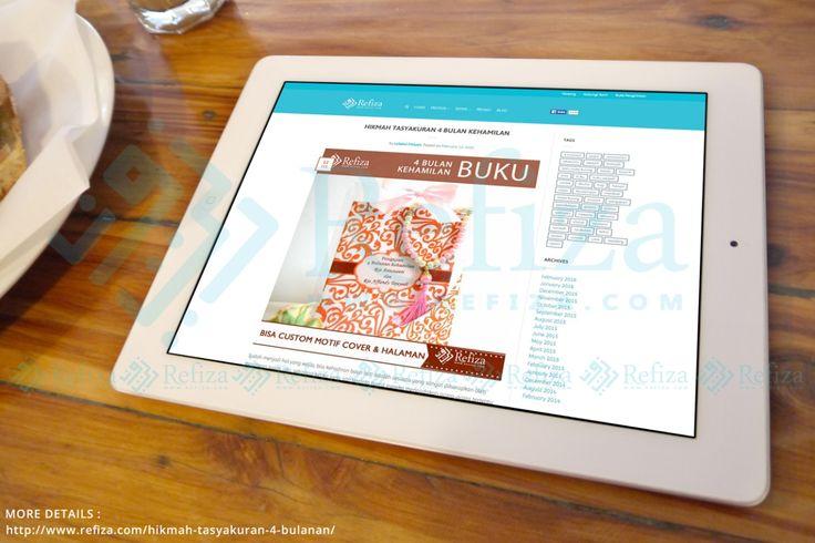 Hikmah Tasyakuran 4 bulan Kehamilan. More http://www.refiza.com/hikmah-tasyakuran-4-bulanan/