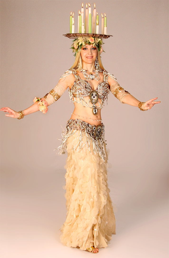 """Swan""  #Neon #bellydance #bellydancer #bellydancing #belly #dance #dancing #dancer  #costume   Dance instruction - Neon - video / DVD / iPhone, iPad Apps:  http://www.Neonissima.com  http://www.WorldDanceNewYork.com"