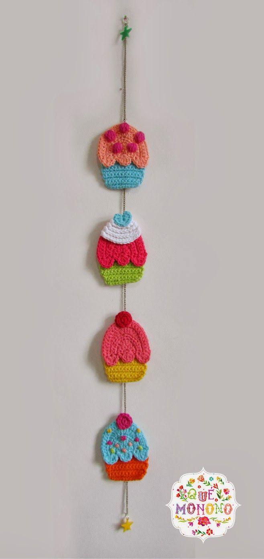 slinger van cupcakes