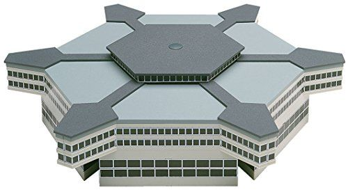 Architecture Model Kits - Daron Herpa Airport Hexagonal Departure Hall 1500 Model Kit >>> More info could be found at the image url.