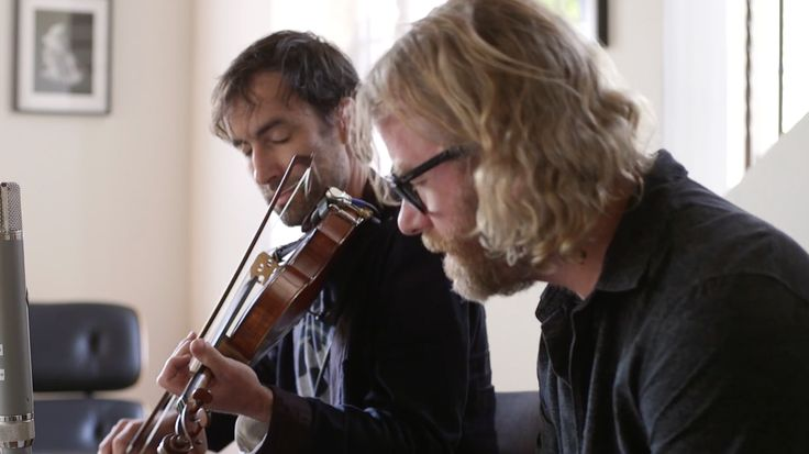 Watch Andrew Bird And The National's Matt Berninger Cover Lou Reed's 'Perfect Day'.