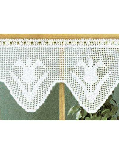 275 best crochet home decor patterns images on pinterest crochet general decorcelebrate the start of spring by crocheting and hanging this pretty valance decorated with filet tulips in your home dt1010fo