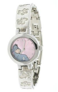 Silver Ladies Disney EEYORE Watch MU2237