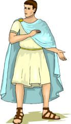 A simpler explanation of Roman Fashions, including good illustrations like this one.