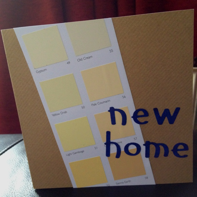 Handmade New Home Cards Ideas Home Room Ideas