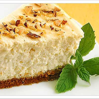 Creamy Amaretto Cheesecake