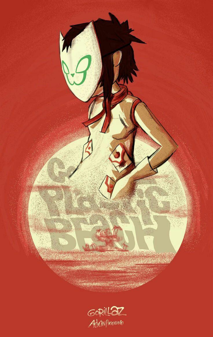 Noodle - Plastic Beach