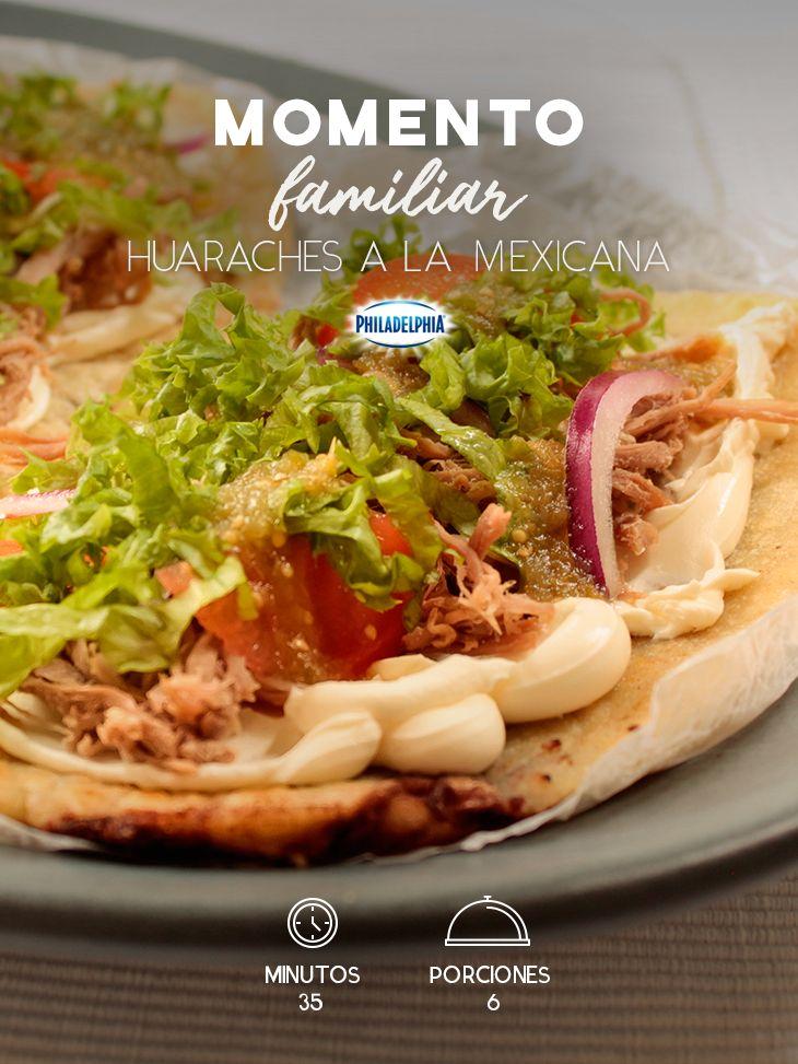 Comparte un momento especial en familia y acompáñalo con unos Huaraches a la mexicana.   #recetas #receta #quesophiladelphia #philadelphia #crema #quesocrema #queso #comida #cocinar #cocinamexicana #recetasfáciles #huaraches #mexicana #antojito #comidamexicana #comida #comidaconqueso #comidaenfamilia #vegetales #antojitos