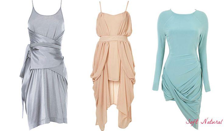 Dresses for Soft Natural (Kibbe). Typ urody Soft Natural – uwodzicielka