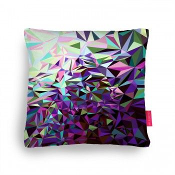 Starfall Two Cushion by House of Jennifer in the ohhdeer.com #pillowfight competition #art #design #geometric #pillows #home #houseofjennifer