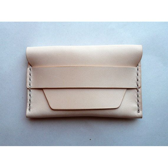 Leather Card Case 01 Wallet  6 colors by summitcreekdrygoods