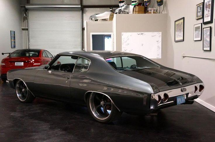 71 72 #BecauseSS chevelle   Chevrolet : Chevelle Chevelle SS 496 grey black