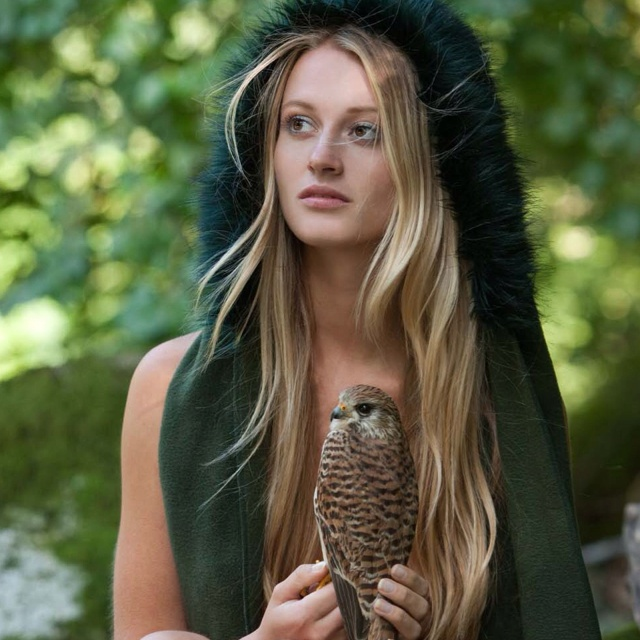lovely girl and bird of birds women pinterest