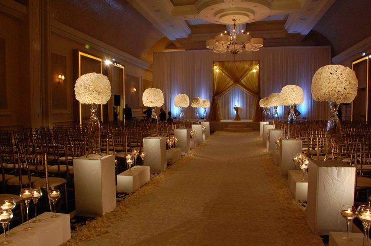 All White Indoor Wedding Ceremony Site: 43 Best Wedding Indoor Ceremony Ideas Images On Pinterest