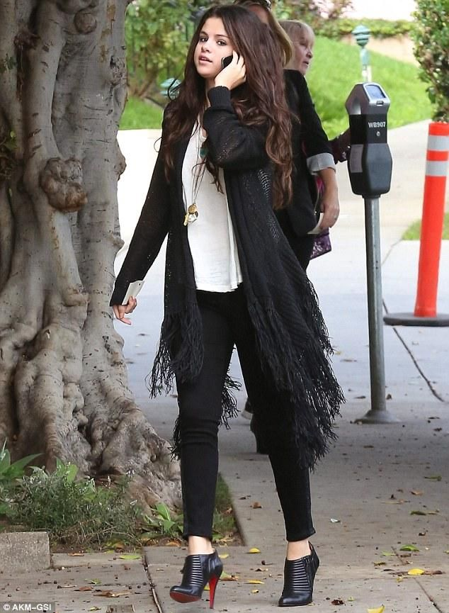 Image result for selena gomez winter fashion